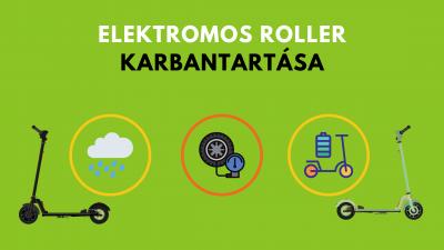 elektromos roller karbantartása